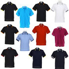 New KUSTOM KIT Mens Womens Tipped Collar Polo Shirt in 8 colours S M L XL XXL