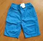 BNWT NEXT Blue Adjustable Waist Shorts 3-4 Yrs