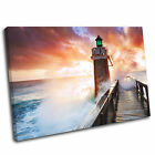 Lighthouse Sea Landscape Canvas Wall Art Print Framed Picture 42 PREMIUM QUALITY