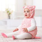 Carters 3 6 12 Months Kitty Halloween Costume Baby Girl Outfit Holiday Pink