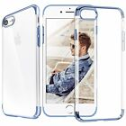 For Apple iPhone 7 / 7 Plus Ultra Thin Transparent Clear Shockproof Bumper Case