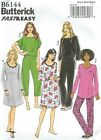Butterick 6144 Misses' Top, Gown and Pants  Sewing Pattern