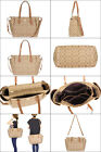 NWT Coach Signature Multifunction Tote Laptop Baby Diaper Bag F35414,  2 options