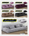Thicken Autumn Winter Stretch Slipcover Sofa Cover Skid 1- 4 Seater + Pillowcase