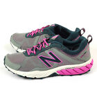 New Balance WT610RP5 D Grey & Pink & Dark Turquoise Trail Running Shoes NB