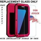 New Gorilla Glass Metal Case Screen Replacement For Samsung Galaxy Models