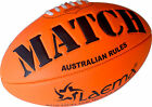 Durable Soft Touch Embossed Grip Neon AFL Australian Rules Footy Ball Size5 - US