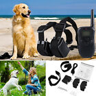 Waterproof Dogs Training Collar Remote Control No Bark Rechargeable Pet Necklace