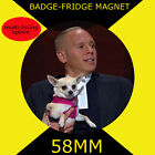 JUDGE RINDER  -58 mm BADGE-FRIDGE MAGNET OR HANDBAG MIRROR CD1234567
