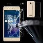 Clear TPU Case Cover +Tempered Glass Screen Film For Asus Zenfone 3 Max ZC520TL