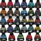 New Era NFL 2016 WINTER FREEZE Pom Pom Beanie Knit Hat Cap One Size Many Teams $22.9 USD on eBay
