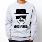 HEISENBERG BREAKING BAD QUALITY WALTER Grey Heavy Blend Crewneck Sweatshirt
