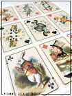 Alice in Wonderland FULL SIZE PLAYING CARDS | Deco icing wafer Card Cake topper