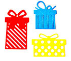 18 Christmas/Birthday Presents Die Cuts, Gorgeous Gifts. Js. Any Colour/Card