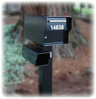 "Fort Knox Locking HEAVY DUTY Rural Mailbox ~1/4"" STEEL~ S..."