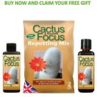 Cactus Focus 100ml,300ml and 2 Litre Repotting Mix Choose Your Own Free Gift