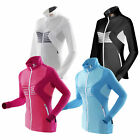 X-Bionic Ski Lady Racoon Shirt Long Sleeve Full Zip Skipullover Damen Longsleeve