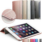 Leather Smart Case for New iPad 2018 Back Cover Magnetic iPad Mini Air 2 Pro 9.7 <br/> UK stock✔Best Quality✔ All models - Fits 2018 model
