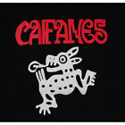 CAIFANES Rock Band Black Men's T-Shirt Red Logo