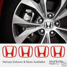 Honda Centre Wheel Cap Replacement Stickers Decals CIVIC CRX INTEGRA S2000 VTEC