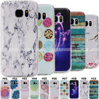 Clear Soft TPU Rubber Back Case Cover Pattern Silicone Fashion Slim For Samsung