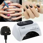 XYT Professional 48W LED Lamp Nail Dryer Gel Polish Curing /w Timer + Sensor UK