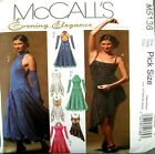 McCalls Sewing Pattern 5136 Ladies Ballroom Leotard Dance Dress Costume