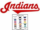 Cleveland Indians Baseball Decal Diecut Sticker Self Adhesive Vinyl on Ebay