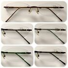 A91 Superb Quality Rimless Reading Glasses/Spring Hinges/Aluminum Alloy Arms