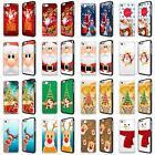 CHRISTMAS XMAS SNOWMAN SANTA PHONE CASE COVER FOR iPHONE 4 4s 5 5S SE 5C 6 6+