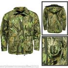 DELUXE QUILTED WATERPROOF HUNTING JACKET COUNTRY CAMO COAT STORMKLOTH SHOOTING