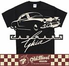 Karmann Ghia Classic Car VW Retro T Shirt Surfer Bug S - 5XL