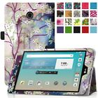 """PU Leather Case Cover For 7"""" Samsung Galaxy Tab A 7.0 (SM-T280/SM-T285) Tablet"""