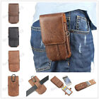 Luxury Leather Wallet Carry Waist Pouch Bag Sleeve Belt Card Clip Case Cover