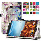 """PU Leather Case Cover For 8"""" Verizon Ellipsis 8 8-Inch 4G LTE Tablet"""