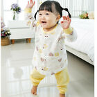 Baby Yellow Floral Cotton Lounge Wear Girlish frill style made in Korea