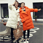 Women's Trench Thicken Down Warm Coat Jacket Collared Loose Parka Plus Size