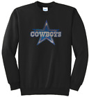 Ladies Dallas Cowboys Ladies Bling Football Sweatshirt Women's Shirt S-4X on eBay