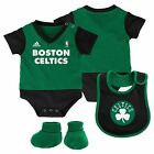 Baby adidas Boston Celtics Creeper Bodysuit, Bib & Bootie Set - *NWT*  NBA on eBay