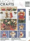 McCall's 7866 A Beary Christmas    Craft Sewing Pattern