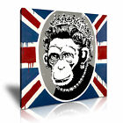 BANKSY Monkey Queen Modern Home Office Canvas Art Box ~ Many Sizes