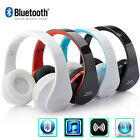 Wireless Bluetooth Foldable Headset Stereo Headphone Earphone for SmartPhone
