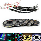 16.4 Feet (5 Meter) Color Changing RGB LED Strip Light Kit with Remote Control