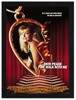 Framed Twin Peaks Fire Walk With Me Movie Poster A4 Size In Black / White Frame