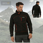Regatta Men's Diego II Softshell Windproof Lined Full Zip Jacket - Black - New