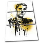 Justin Beiber Grunge Urban Musical TREBLE CANVAS WALL ART Picture Print