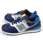 New Balance KL574BWY W Navy & Silver & Blue & White Kids Lifestyle Shoes NB