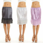 Melody Womens Lace Extender Slip Skirt Half Slip Dress All Sizes & Colors NEW