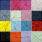 Plain Polycotton Fabric Craft Dress Superior Quality Poly Cotton Sold per metre