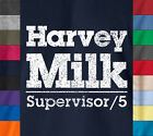 HARVEY MILK San Francisco GLAAD T-Shirt 100% Ringspun Gay Rights Pop Culture Tee